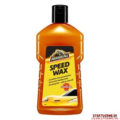 Rýchly vosk - ARMORALL - Speed Wax, 500ml