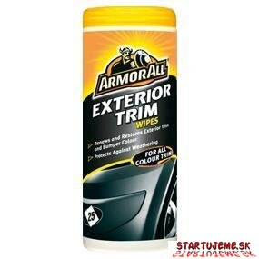 Utierky Trim Wipes- ARMORALL, Tuba 25Ks