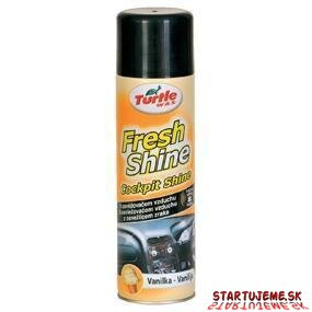 Turlte WAX - Fresh Shine Cockpit - Vanilka, 500ml