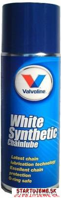 Valvoline - White Synthetic Chainlube , mazivo na motoreťaze, 400ml