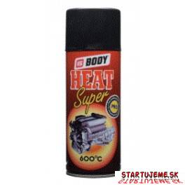 BODY Heat Super 600°C -  Čierny, 400ml