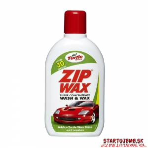 Autošampón s Voskom - Turtle WAX Zip Wax, 500ml