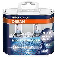 Žiarovky HB3 - 12V 60W - OSRAM Night Breaker PLUS, BOX