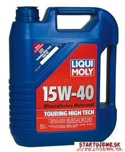 LIQUI MOLY 15W40 -Touring High Tech HD, motorový olej, 1L